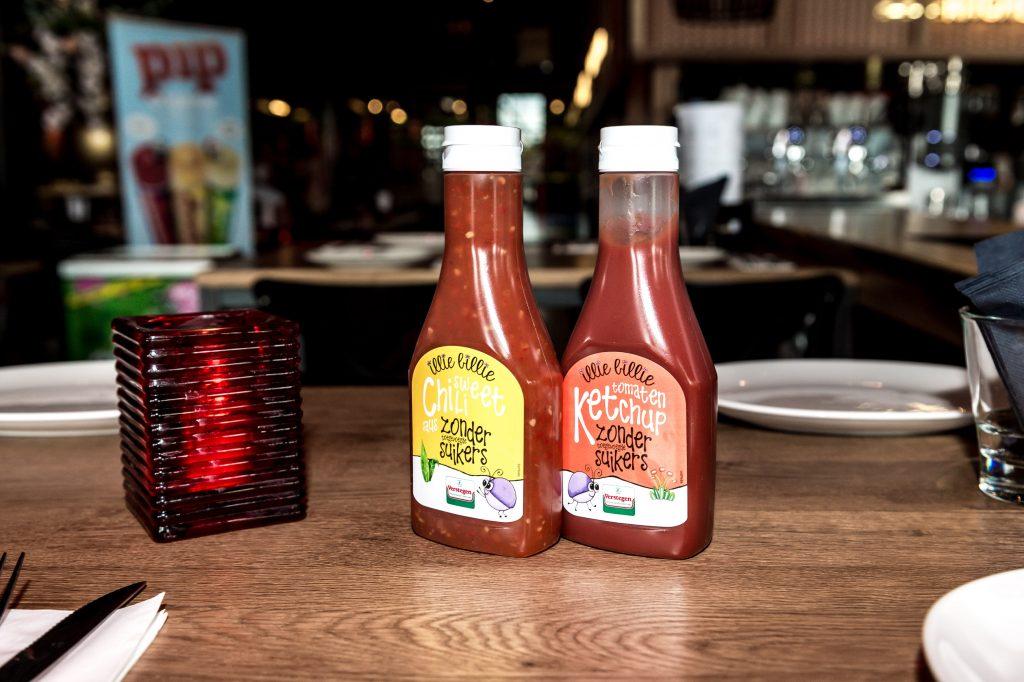 Illie Billie Sweet Chili en Ketchup zonder toegevoegde suikers