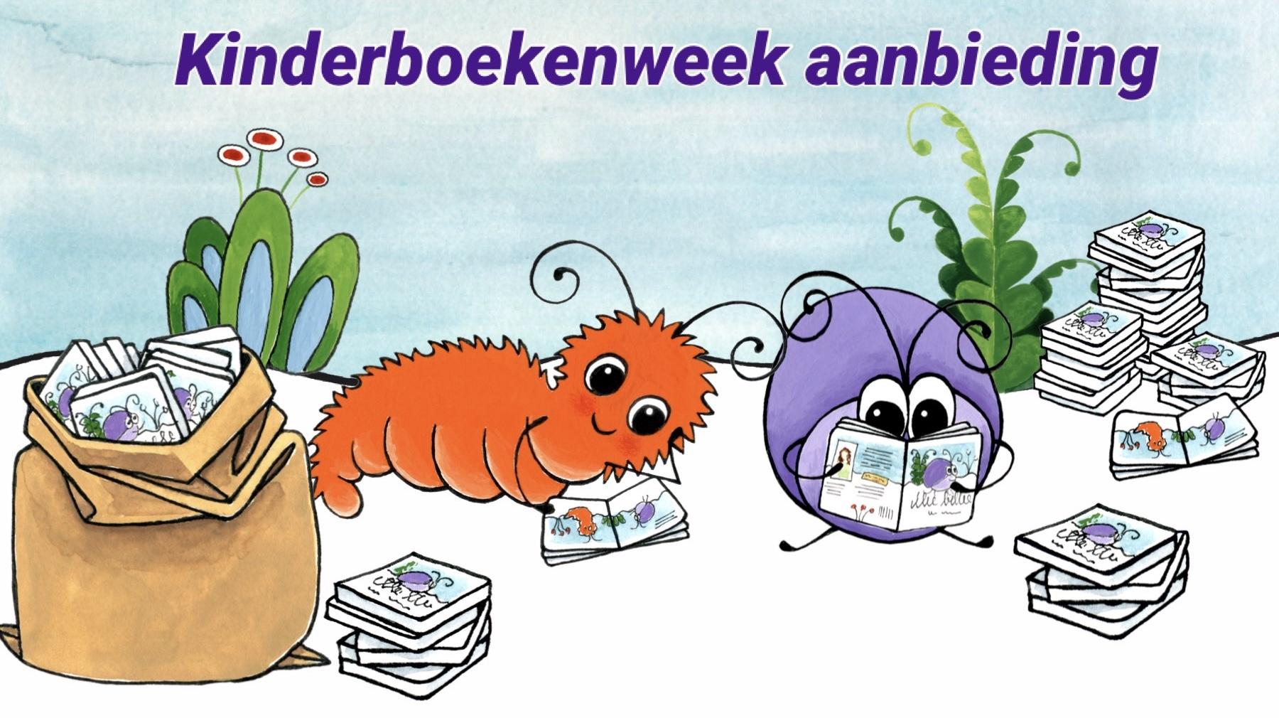 Kinderboekenweek aanbieding Illie Billie