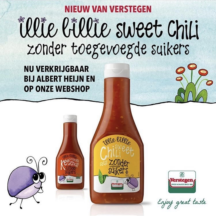 Illie Billie Sweet Chili Verstegen
